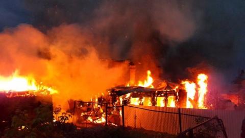 Саратовчанка погибла на утреннем пожаре