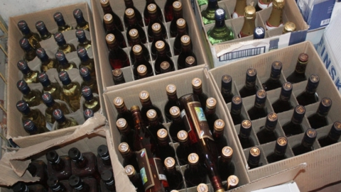 Полтора миллиона литров нелегального алкоголя изъято в регионе за пять лет