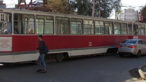 В Саратове встали трамваи 11 маршрута