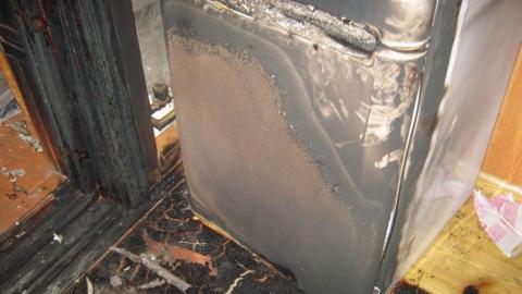 Почти 60 человек выезжали на тушение холодильника в санатории