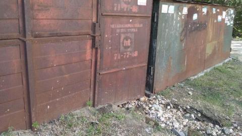 Аварийщики из «КВС» разыскивают владельца гаража в Заводском районе