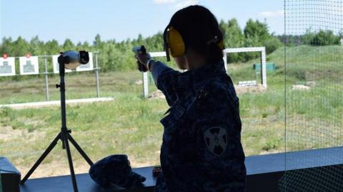Саратовские росгвардейцы стали лучшими стрелками в ПФО