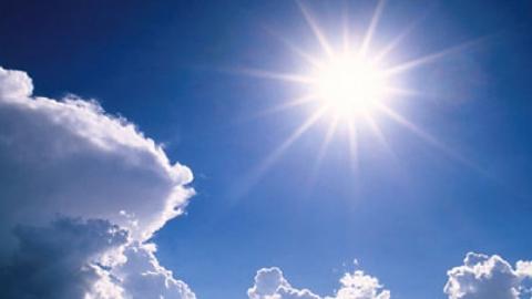 Солнечная и ясная погода ожидается в регионе во вторник