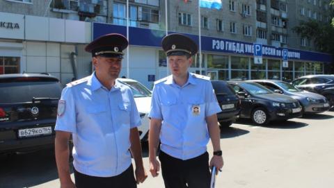 Чепурной проверил работу нового отдела РЭО на Большой Садовой