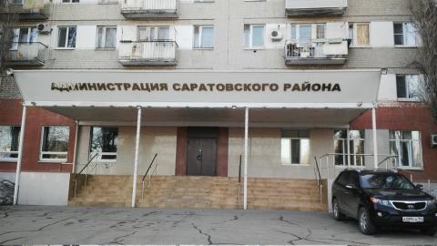 Сторож обожгла руки на ночном пожаре в администрации Саратовского района
