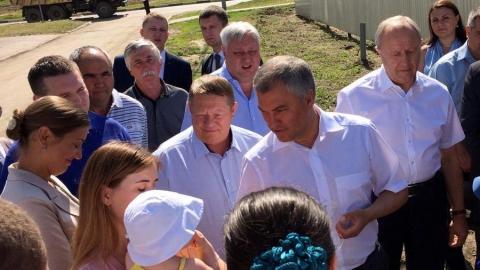 Панков: Володин призвал жителей тянуться к звезде