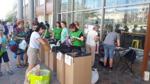 Сотрудники «КВС» приняли участие в акции по раздельному сбору мусора