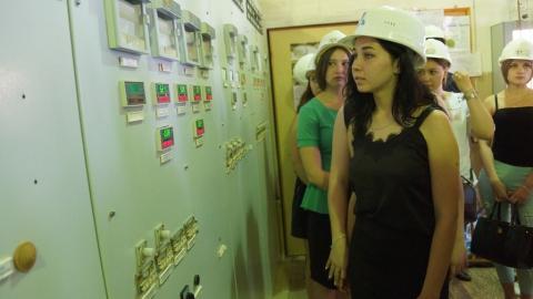 Студенты педагогического колледжа посетили Саратовскую ГРЭС