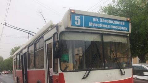 Из-за аварии остановлены два троллейбусных маршрута