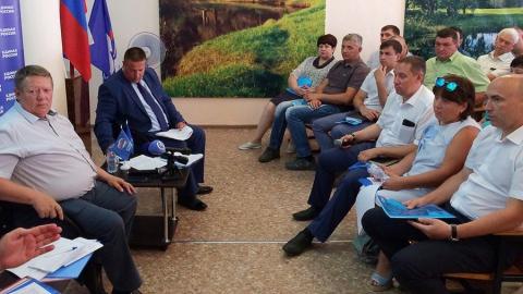 Балашовцы рассказали Панкову о своем видении комплексного развития села