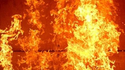 В садовом товариществе ночью сгорел ларек