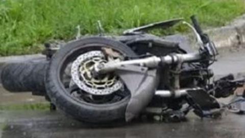 18-летняя селянка перевернулась на скутере