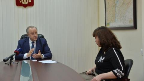 Почти 34 тысячи человек пожаловались Валерию Радаеву в прошлом году