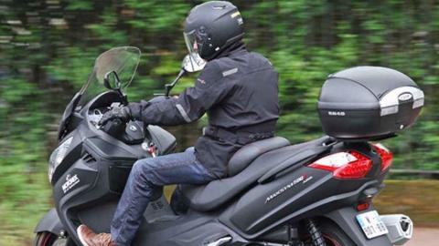 Сотрудники ППС нашли угнанный скутер