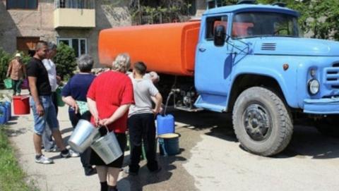 В «КВС» назвали места подвоза воды жителям Ленинского района