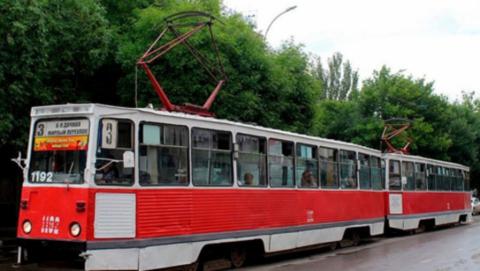 Трамвай-«девятка» в Саратове не будет ходить полдня