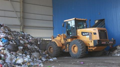 Объем поступлений на Балаковский мусоропрерабатывающий комплекс вырос в 3 раза