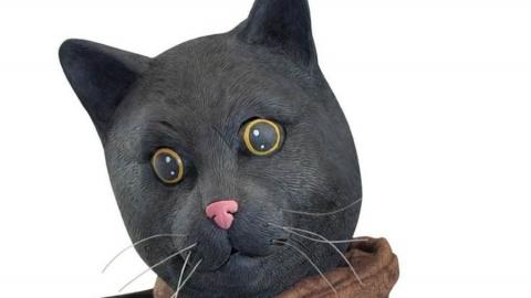 Странный человек в костюме кота преследует девушек в Горпарке