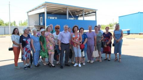Общественники посетили Балаковский мусороперерабатывающий комплекс