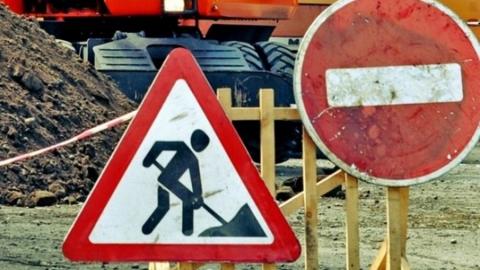 Закрыта одна полоса дороги на улице Степана Разина