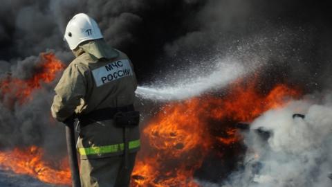 Дачный дом горел в Саратовском районе
