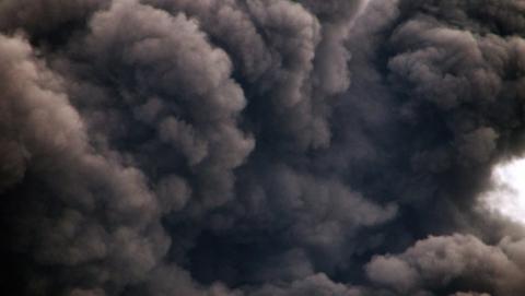 На территории маслозавода в Аткарске - пожар