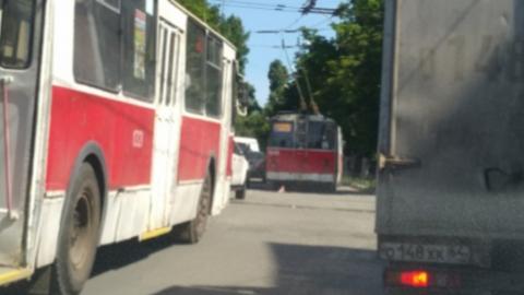 В Саратове опять остановился троллейбус-«двойка»