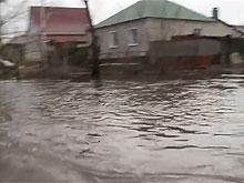 Опубликовано видео подтопленного Петровска