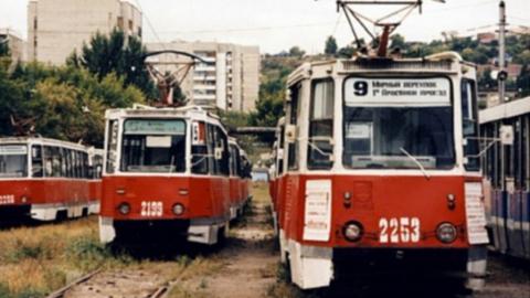 Утром в Саратове остановились трамваи четырех маршрутов