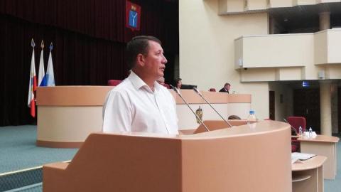 Депутаты гордумы проголосовали за сложение полномочий Сергея Наумова