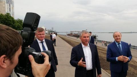На новой набережной Саратова появятся площадки для детей и кафе