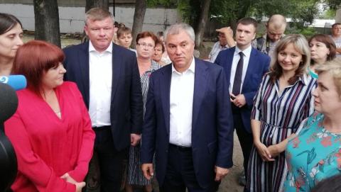 """Вячеслав Володин: """"Главное - комфорт детей"""""""