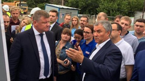 Панков: Проект Володина по реконструкции набережной привлёк много энтузиастов