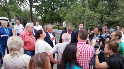 Дом для жильцов бараков в Елшанке сдадут к августу