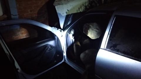 Водитель насмерть разбился о стену дома