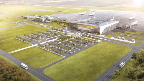 Из крупных райцентров Саратовской области к новому аэропорту будут ходить автобусы