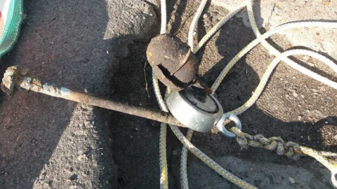 Найденную балашовцем гранату уничтожили саперы