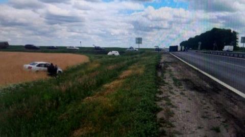 Ребенок и еще двое взрослых пострадали в дорожной аварии под Саратовом