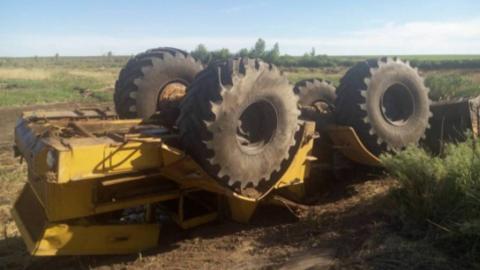На сельской дороге погиб тракторист