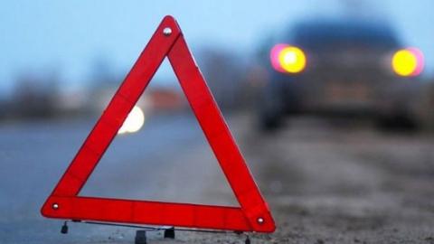В аварии ранены два водителя иномарок