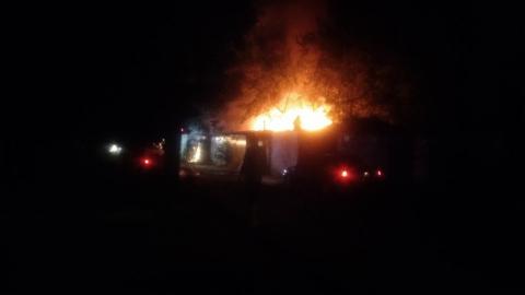 В Саратове в Домах 8-го Марта горели сараи