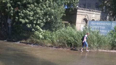 Вода залила Сокурский тракт. Фото