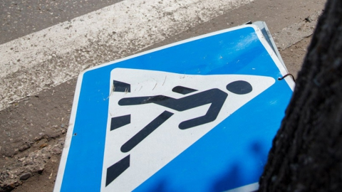 Два часа назад в Саратове «Гранта» сбила пешехода