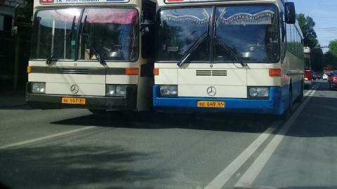 В Саратове до августа отменены автобусы № 43