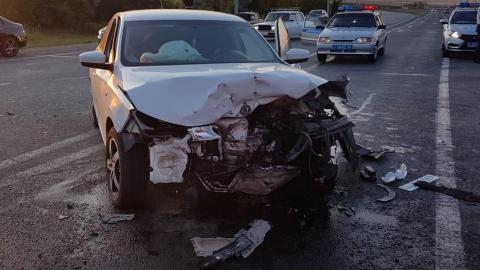 Пять взрослых и мальчик ранены в массовой аварии на Вольском тракте