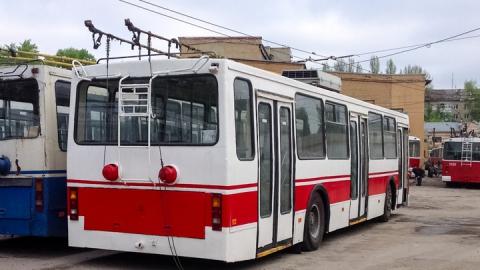 Прервано троллейбусное сообщение с Заводским районом