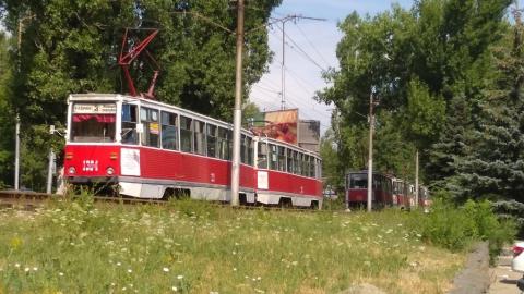Встали трамваи 3-го маршрута
