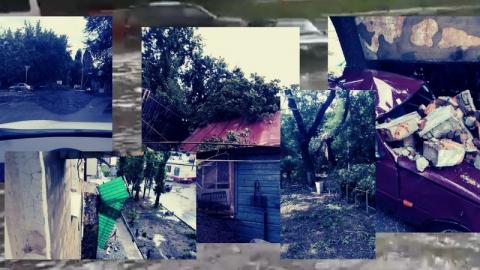 Гроза в Саратове: сорванные крыши, разбитые авто, горящие дома