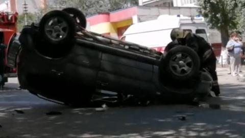 По дороге на Кумысную поляну «Газель» перевернула «Ниву» и врезалась еще в две машины