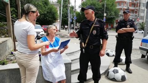 Полиция и журналист SaratovNews вернули домой заблудившуюся бабушку